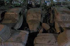 Anybody? No? Dust (victor*f) Tags: cemetery car canon geotagged rust sb600 classics bern junkyard scrapyard ausstellung g7 autofriedhof sb26 strobist skyports kaufdorf geo:lat=4683546242 geo:lon=750636578 guerbetal