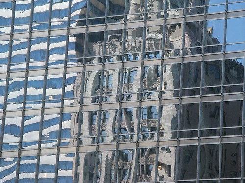 Chicago - reflection in the Trump Tower