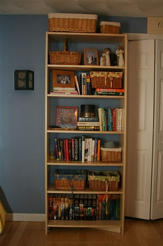The finished bookcase