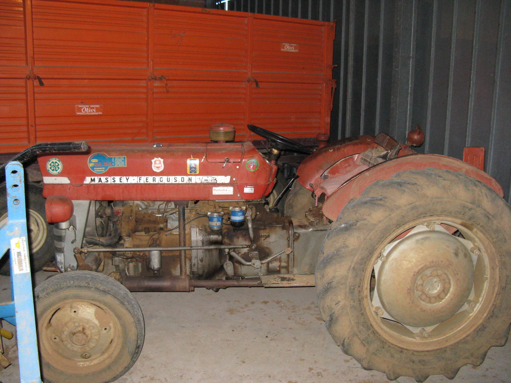 Orchard Tractor Massey Ferguson 50 : Massey ferguson orchard tractor flickr photo