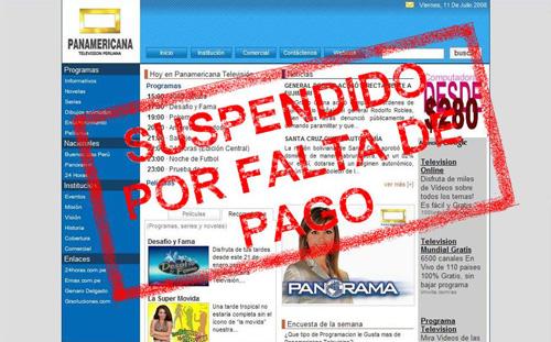 Laa web de Panamericana