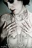 Llevo en mi pecho tatuado .... cartas de un extraño Modelo : Elena