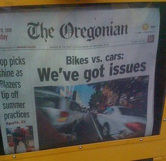 Oregonian front page day 2