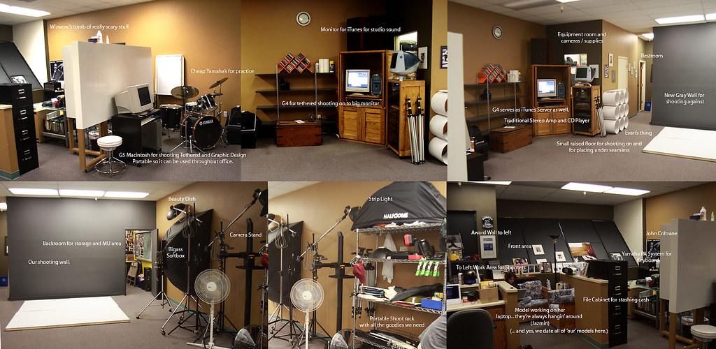 Wizwow's Studio (And Evan, Jim and Alex)