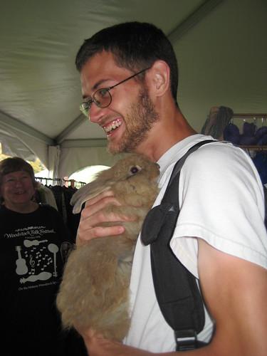 ben w/ fiber rabbit