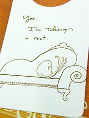 jj-yes, i'm taking a rest