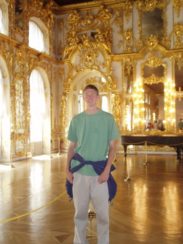 Me at Catherine's palace