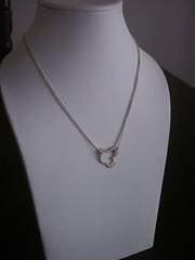 Solid Silver Bird Necklace (bbel-uk) Tags: bird silver necklace peace dove jewellery jewelery bbel