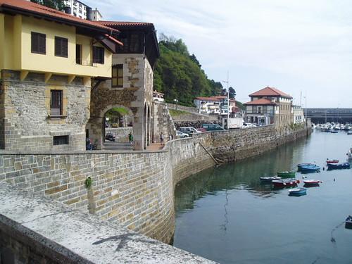Mutriku puerto
