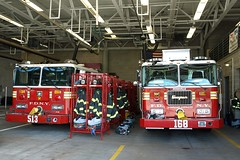 E168s FDNY Engine 168 & Spare Engine 513, Rossville, Staten Island, New York City (jag9889) Tags: county city nyc house ny newyork building station architecture truck fire engine reserve richmond medical company service borough technician 23 spare statenisland firehouse emergency 2008 ems fdny department firefighters seagrave bravest battalion rossville 513 e168 y2008 engine168 battalion23 jag9889