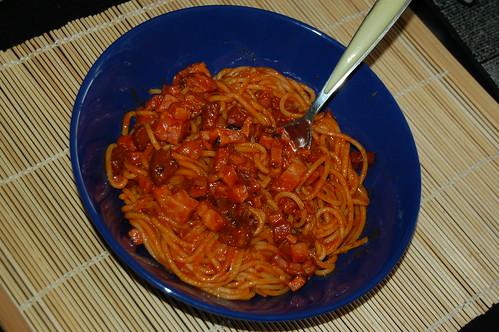 Mi primer plato de espaguetis