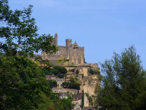 Vue sur la ville de Beynac
