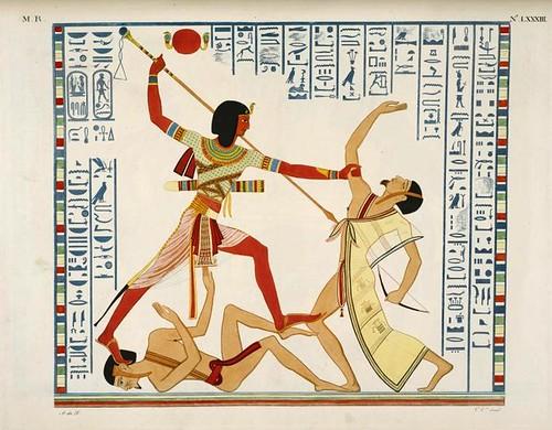 02- Ramses III combate a pie con un jefe enemigo