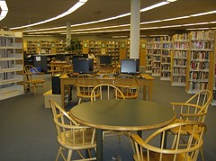 Study Tables & Adult Internet (Peterborough Public Library) Tags: studytable adultsection publicinternetcomputers