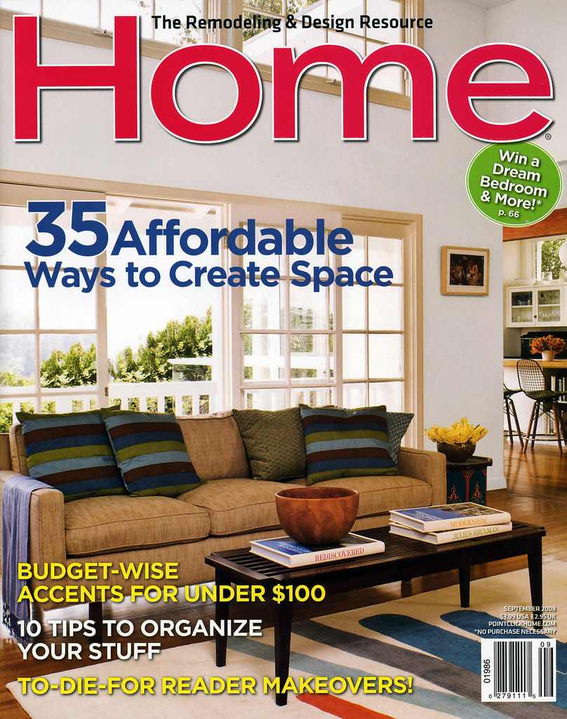 Home Magazine, September 2008