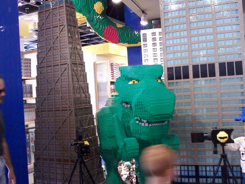 Lego Sue takes Chicago by storm