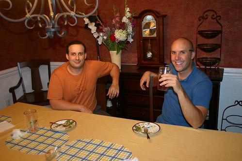 Drew and John