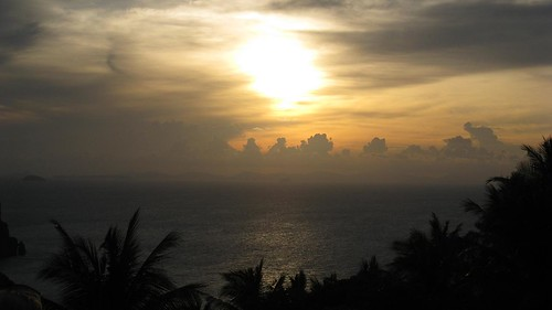 Sunset from Phi Phi viewpoint