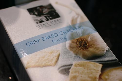 Elsa's Baked Crackers