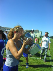 Katie with eyes bigger than the cup (Gerkin20) Tags: domination dcgaels northamericangaelicfootballchampions bostongaa