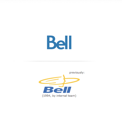 bell canada old and new