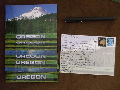 Postcards for Barack Obama