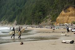 surfers (dolanh) Tags: oregoncoast oswaldweststatepark shortsandsbeach
