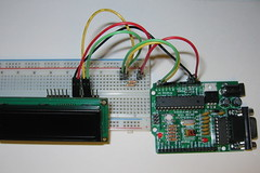 IMG_5074 (Spikenzie) Tags: backpack lcd breadboard arduino i2c freeduino