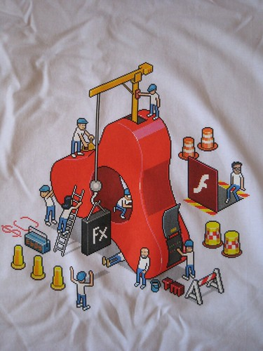New Adobe AIR shirt