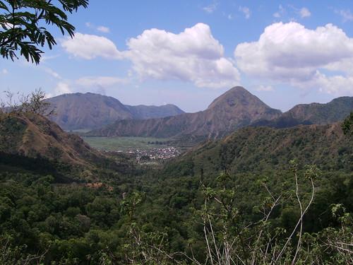 View of Sembalun Bumbung