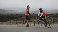 Tom & Fred @ Pescadero Rest Stop IMG_1318.JPG Photo