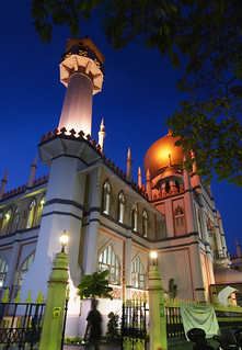 From flickr.com/photos/84493444@N00/2887233250/: The Sultan Mosque, Singapore