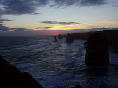 Sunset At Twelve Apostles (majelbstoat) Tags: australia greatoceanroad twelveapostles