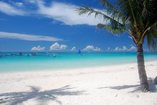 Philippines Manila Beaches. Its long white sand beaches