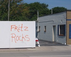 Fritz rocks, allegedly