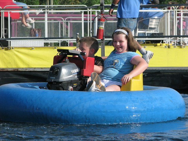 100 Things to see at the fair #30: Bumper Boats