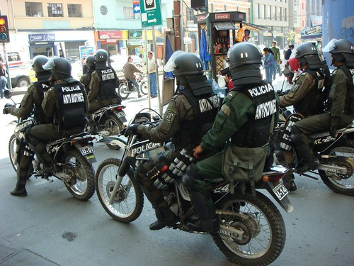 Cochabamba MC police squad