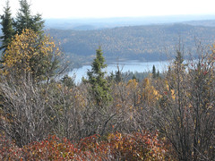 View of Scarecrow Lake from Ishpatina Ridge