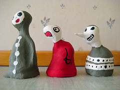 To the left (Annika Sandin) Tags: annika handmade clay sandin