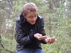 Kasper (.A.K.) Tags: kasper hygge svampetur kantarel yxenhult