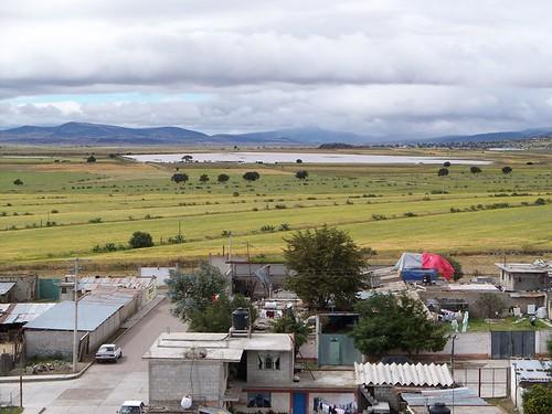 Vista desde la parte superior de la Iglesia