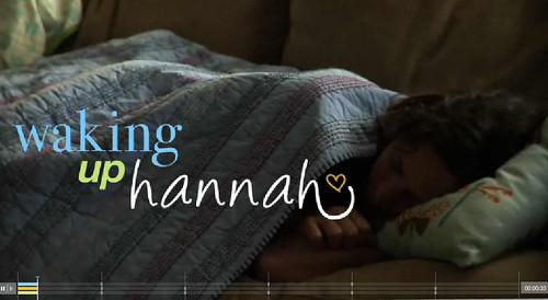 Dove Waking Up Hannah