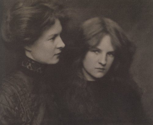 The Orphan Sisters, Harold Cazneaux, 1906