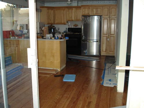 Kitchen Floor Installation Completed