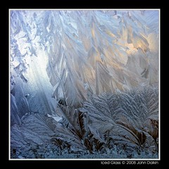Iced Glass (Heaven`s Gate (John)) Tags: winter england white cold macro ice nature water glass beauty closeup wow birmingham frost pattern 500x500 johndalkin heavensgatejohn p1f1 naturescreations icedglass