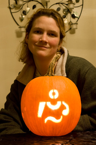 BlogHer pumpkin