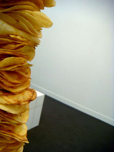 potato chip tower
