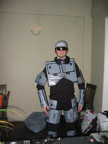 Robocop Costume Halloween London