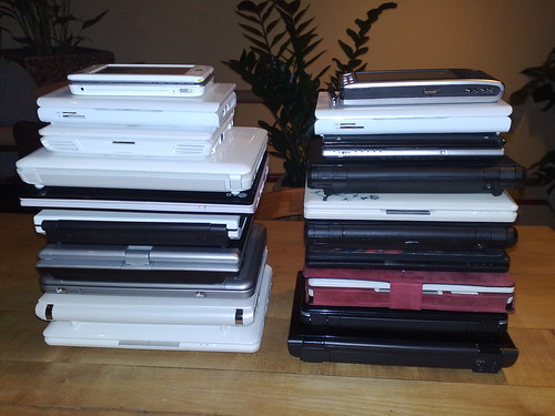 Twin netbook towers