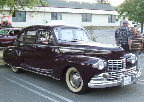 1946 Lincoln Zephyr Club Coupe - YouTube